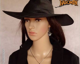 """Necklace """"Pumpkin with hat"""""""