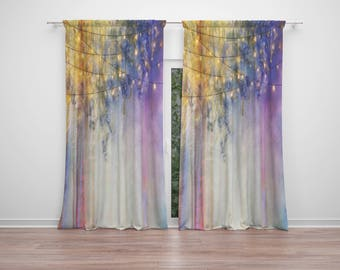 Gypsy Nights  Window Curtains Boho Chic