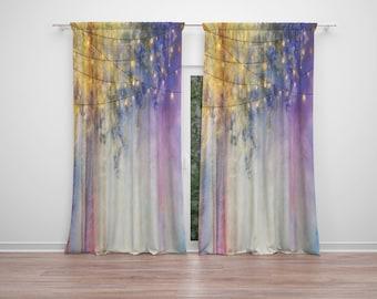 Gypsy Nights Window Curtains Boho Chic