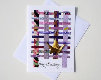 Happy birthday greetings for boyfriend| Cute birthday card for girlfriend| Birthday card idea for a friend| Origami birthday card for sister