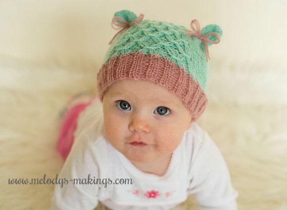 Kid Bear Hat Knitting Pattern Adult Bear Hat Knitting Pattern