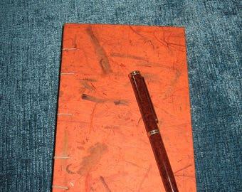 Orange Slim-line Writing or Sketch Journal.  Item #1020.