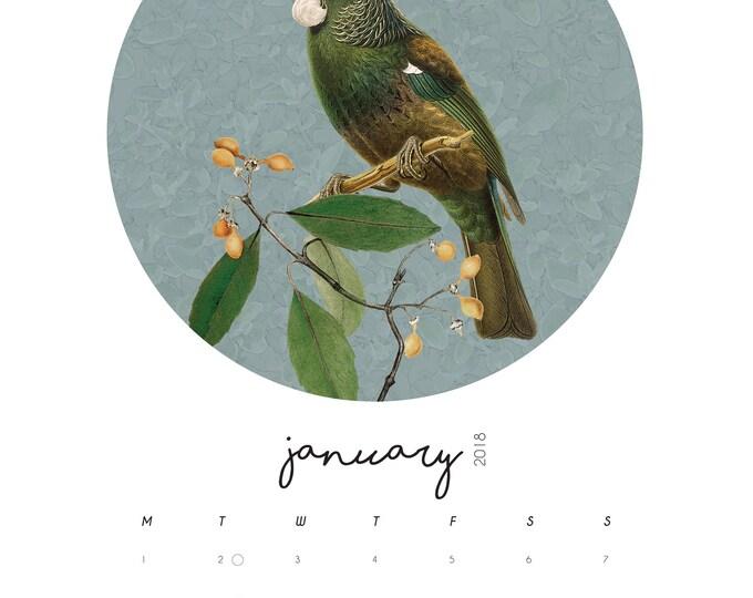 A4 Wiro Calendar