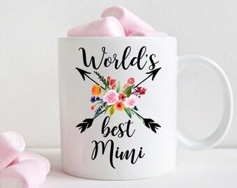 World's Best Mimi Mug, Gift for Mimi (M456)