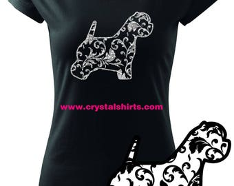 West Highland White Terrier / Westie silhouette T-shirt
