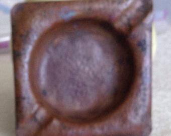 Art Deco Copper Ashtray