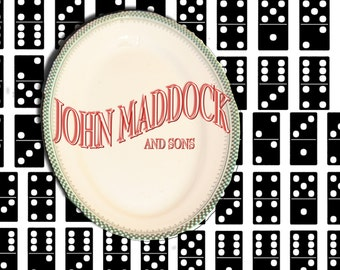 John Maddock and sons Platter