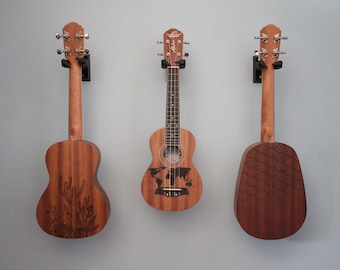 CUSTOM Ukulele Art (Available in Soprano, Concert, Tenor, and Pineapple size ukuleles. Left handed ukuleles also available.)