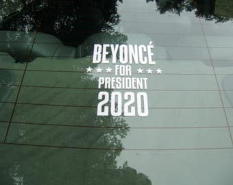 BEYONCE FOR PRESIDENT....She has conquered Motherhood, Twitter, The Internet. What's left but the President of The United States of America