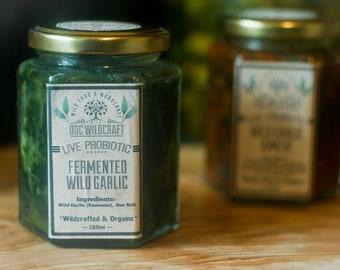 Fermented Wild Garlic (280ml)