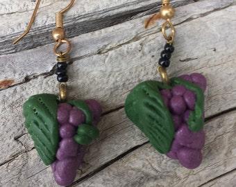 Grape Bunch Earrings