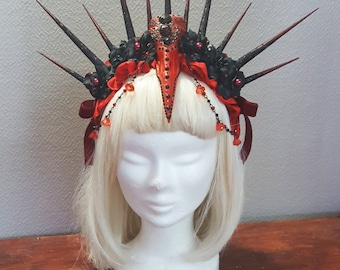 Made to order Divine skull headress