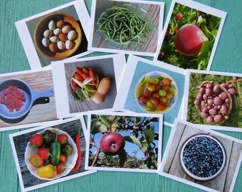 Vermont Food Greeting Cards