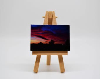 Silhouette - Mini Canvas w/ Easel