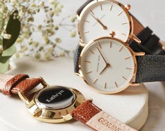 Personalised Women's Watch W004 ~ Engraved Anniversary, Birthday Gift