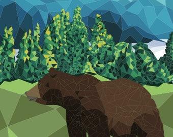 Polygon Bear