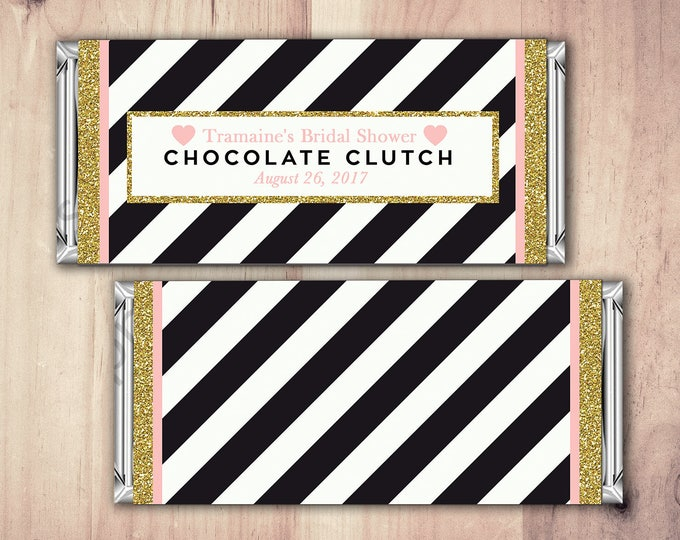 Digital file, Birthday Candy Bar Wrapper, Birthday Chocolate Bar Birthday Candy Wrappers - shabby Chic- 40th, 21st, 30th, 50th, 60th, 70th,