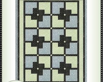 Downloadable Dominique Quilt Pattern Easy 3 Yard design