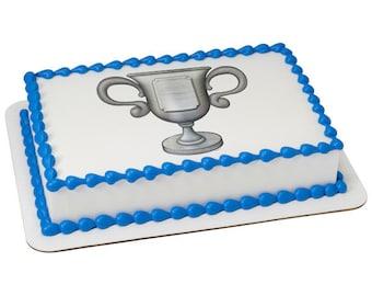 Trophy Edible Cake Topper