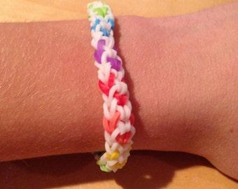 Rainbow Swirl Bracelet