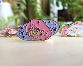 Space Girl Pin