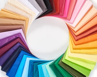 Tissue Paper Ream 480 Sheets - Your Choice of Color in Bulk