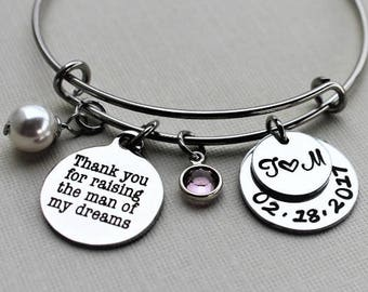 mother of the groom jewelry, mother of the groom bracelet, mother of the groom gift, mother of the groom bangle, mother of the groom set
