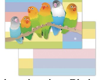 Creative Motion Lovebird Memo Pad  Price depends on order volume.