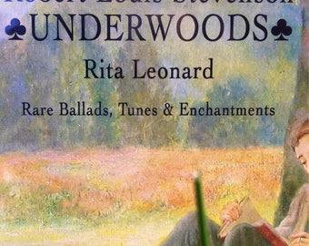 Scottish music Robert Louis Stevenson honored Robert Louis Balfour Stevenson RLS his coming of age works Underwoods by Rita