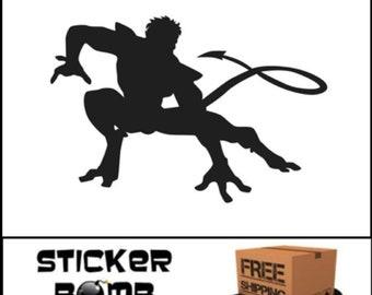 Nightcrawler Decal Marvel Stickers Comics JDM Kurt Wagner