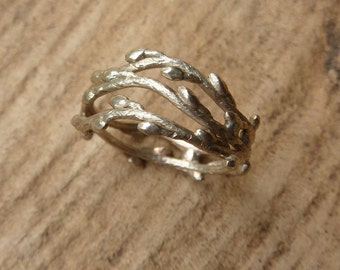 Triple Branch Ring - 14K