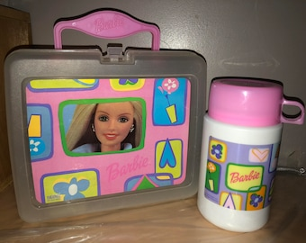 Vintage Barbie Lunchbox with Thermos