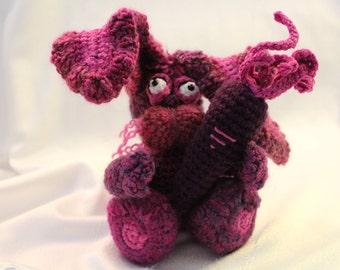 Amigurumi Crochet Pattern - Babette the Bashful Bunny