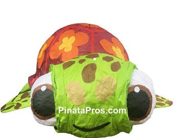 Squirt Turtle Pinata from the movie Nemo!