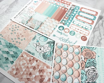 BIG Happy Planner Planner Stickers - Weekly Planner Sticker Set - Happy Planner - Day Designer - Functional stickers - Happy Easter 2018