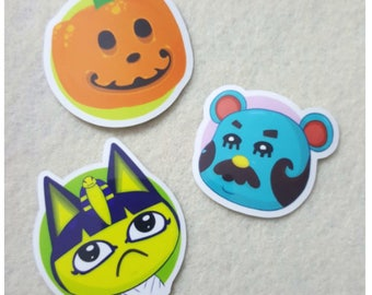 Animal Crossing Stickers - Villager Circles