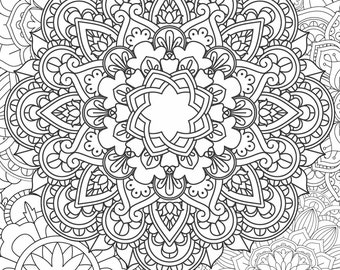 Mandala Coloring Page - Printable Coloring Pages - 05