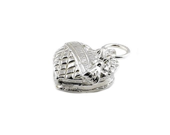 Sterling Silver Opening Chocolate Box Charm For Bracelets