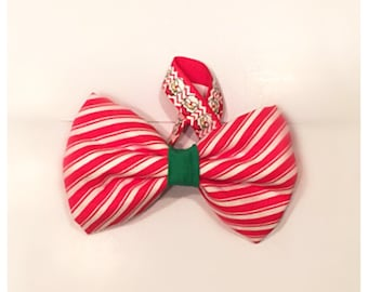The Peppermint Patty Dog BowTie