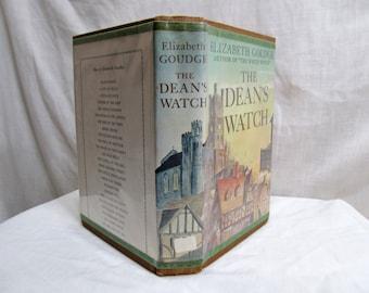The Dean's Watch, Elizabeth Goudge, Coward McCann, 1960 Hardcover First Edition 19th Century English Town Unselfish Love Fiction Novel