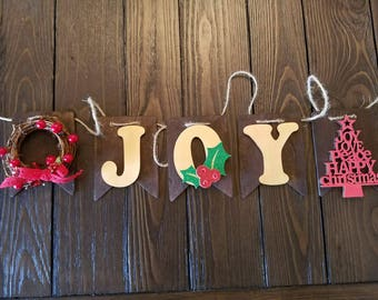 Joy Christmas Banner