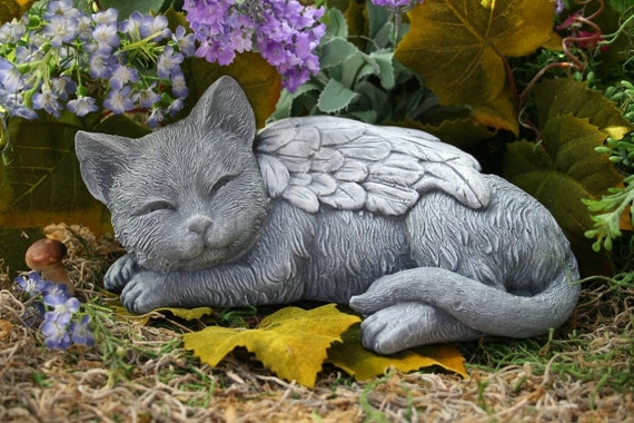 cat garden statue. like this item? cat garden statue e
