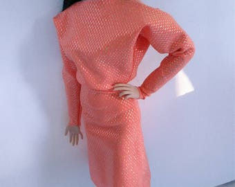 16 inch fashion doll over size dress one size fits all!