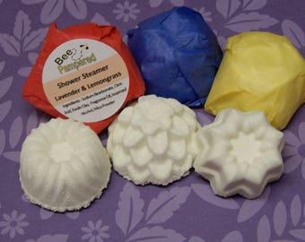 Shower Steamer - Lavender & Lemon Grass - 6 Pack 4oz