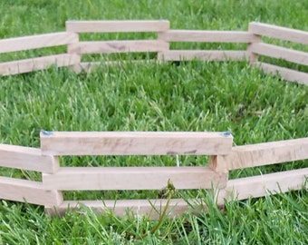 Toy Farm Fence