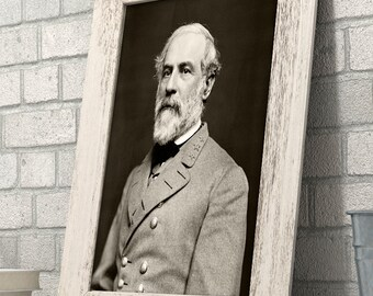 Portrait of General Robert E. Lee - 11x14 Unframed Print - Great Civil War Home Decor