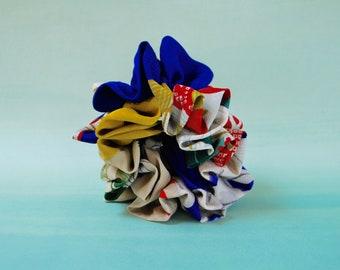 Silk Kimono    Scrunchie