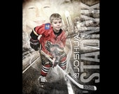 Custom Hockey Sports Post...