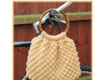 ENGLISH Instructions ONLY - Instant Download PDF Crochet Pattern Honey Bag