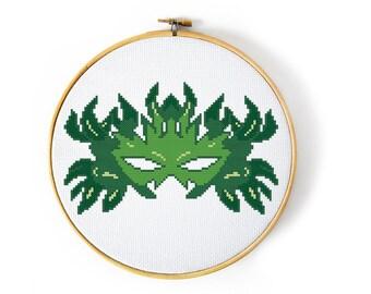 Dragon Age Dalish Heraldry Cross Stitch Pattern